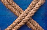 X shaped rope