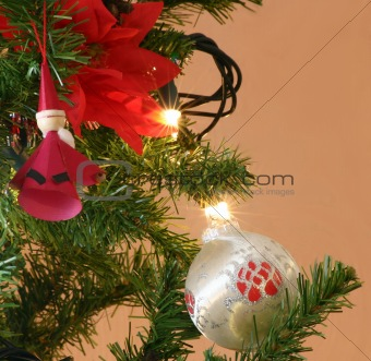 bauble and decorations