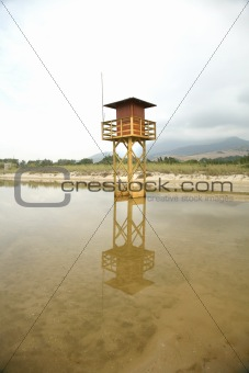 beachguard tower