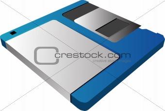"""3 1/2"""" floppy diskette"""