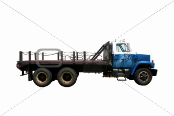 Flat Bed Side isolated