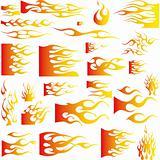 Flames-Vector