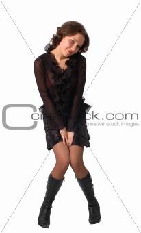 modest girl