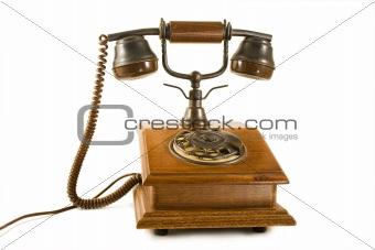 Old wood phone