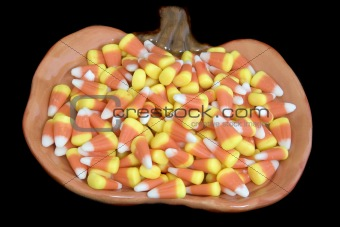Candy Corns Plate