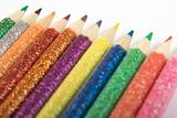Glittery Pencil Crayons