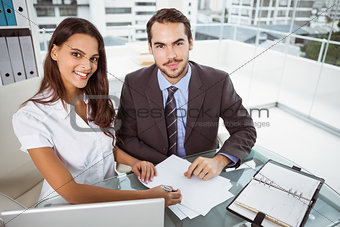 Business people in meeting at office