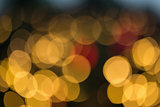 Defocused shot of blurry lights