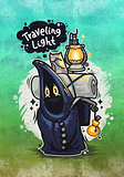 Traveling Light Cartoon Character