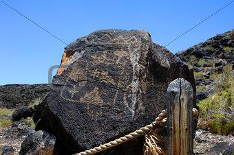 Albuquerque Pueblo Indian Petroglyph