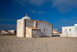Church of Our Lady of Grace  at Sagres Fortress,Algarve, Portuga