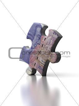 Single English Pound Puzzle