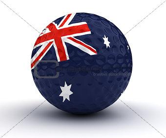 Australian Golf Ball