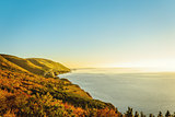 Cabot Trail in the fall