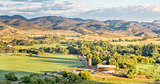Colorado foothills panorama