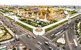 Wat Phra Kaew, Grand palace in bangkok, thailand.