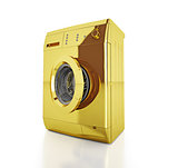 gold washing machine