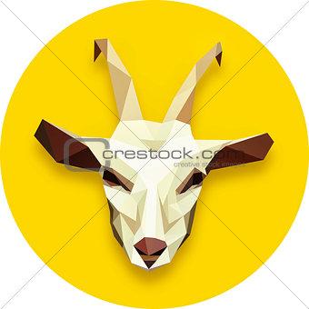 goat head polygonal