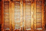 Vintage window shutters background