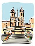 Rome (Trinità dei Monti)