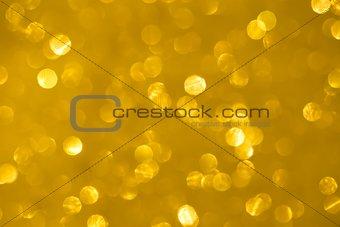 abstract golden bokeh texture