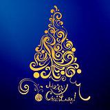 lase christmas tree