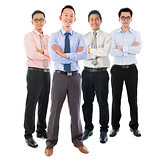 Asian businessmen