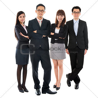Asian Multi Ethnic Business People