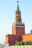 Sights of Moscow Kremlin's Spassky Tower