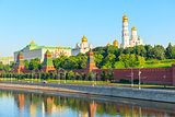 territory behind the walls of Moscow Kremlin