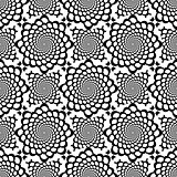 Design seamless monochrome snakeskin pattern