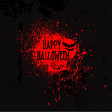 Grunge Halloween background`