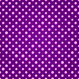 Purple Polka dot Seamless Pattern