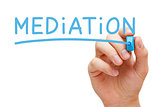 Mediation Blue Marker