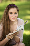 Teen Reading Book