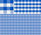 Seamless picnic table cloth pattern 1500x1500 with samples. Good