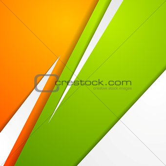 Abstract modern colorful corporate design
