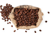 Gourmet coffe background.
