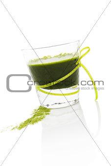 Green drink.