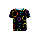 T Shirt Template- flora