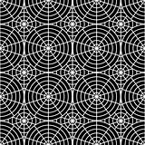 Design seamless monochrome spider web pattern
