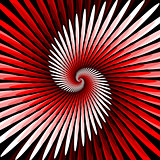 Design colorful spiral movement background