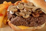 Mushroom burger