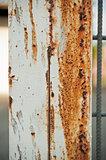 Rusty column