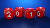 Dice with new year 2015