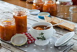 Apricots Marmalade And Rusks