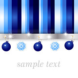 blue and silver glossy background