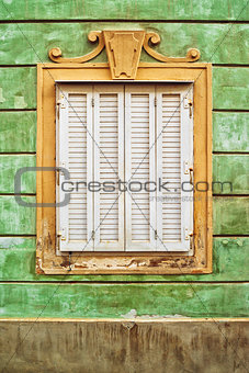 Old Baroque Window