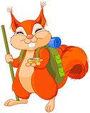 Squirrel traveler