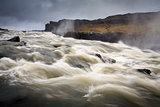 Dettifoss waterfall in North West Iceland